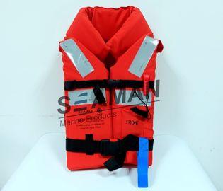 ポリエステル オックスフォードの布EPEの泡150Nの海洋の大人の救命胴衣の沖合いの救命胴衣
